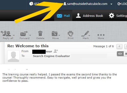 Search Engine Evaluator Training Course Success Story Testimonial